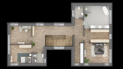 3D Grundriss OG Marie Interior Design