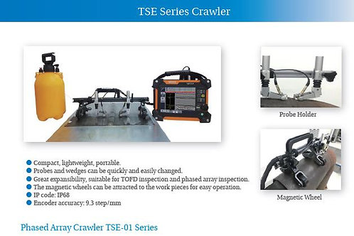 SIUI TES-02 Crawler for Both PAUT & TOFD inspection use