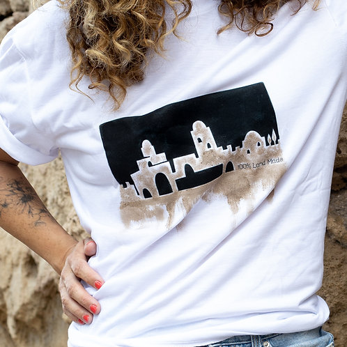 חולצה אדמת ירושלים חלק תחתון