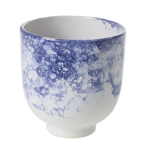 Blue Bubbly Pot