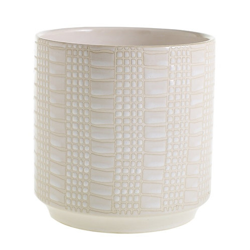 White Zati Pot
