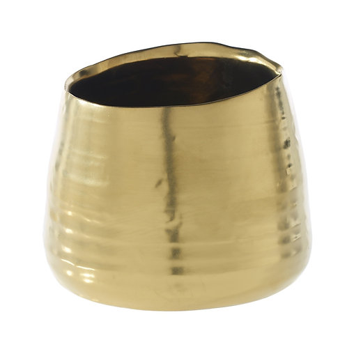 Gold Tegan Pot