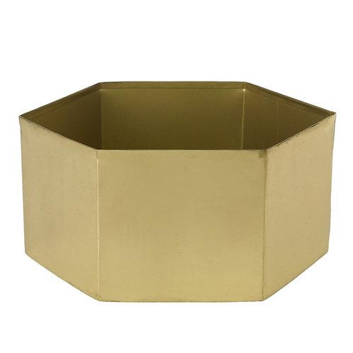 Gold Hexagon Bowl