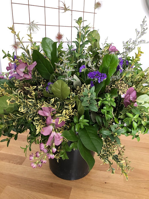 Purple Bliss arrangement