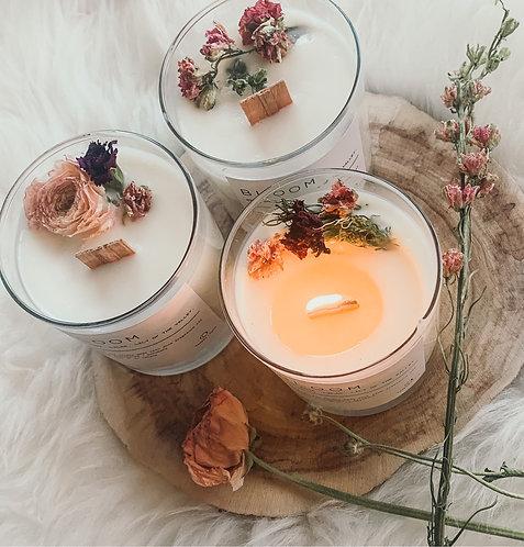 Botanical candles