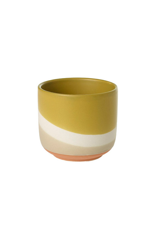 Yellow Colourway Pot