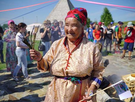 «Первый, первородный праздник» отмечают телеуты Кузбасса