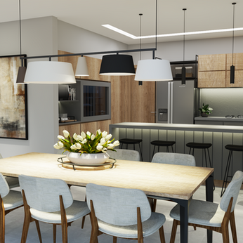   BC HOUSE   Dining + Kitchen