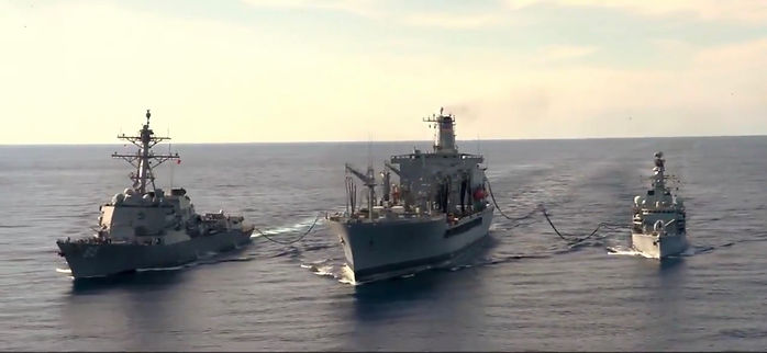 Replenishment At Sea (RAS) - THEY COME UNSEEN | Concepts