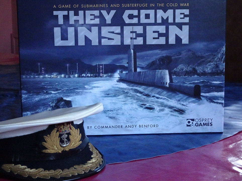 A board game of submarines and subterfuge in the Cold War | THEY COME UNSEEN | Osprey Games