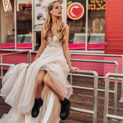 Brautkleid gefunden bei Brautmode Anna Jung in Villingen-Schwenningen