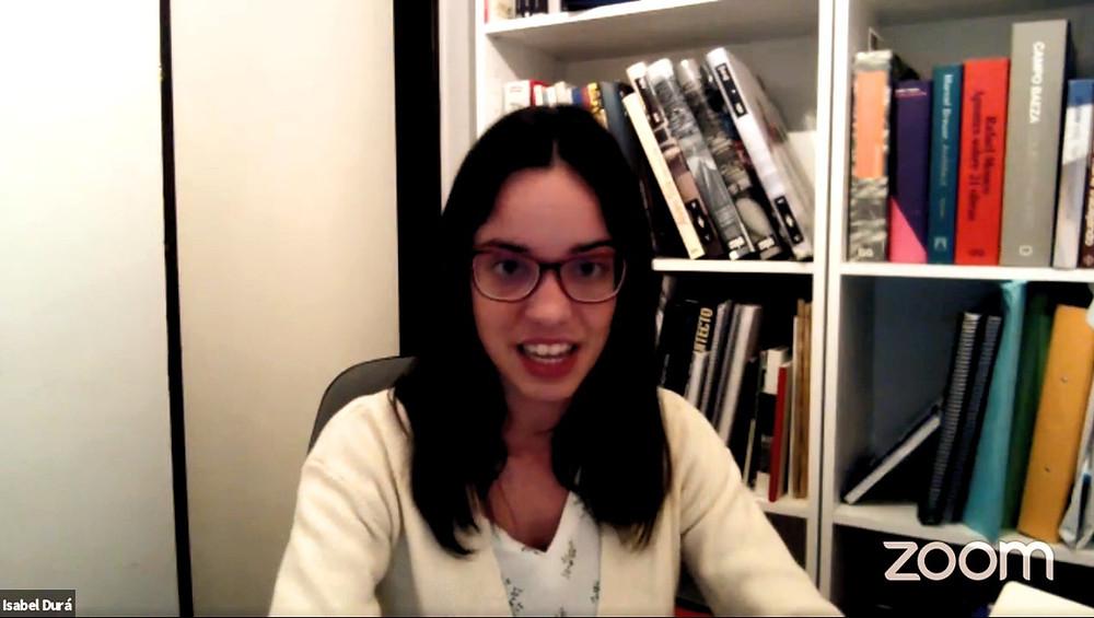 En la imagen, la Dra. Isabel Durá.