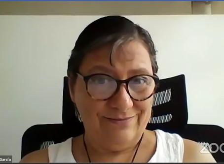 """""""La virtualidad no es la única respuesta"""", Dra. Victoria González García"""