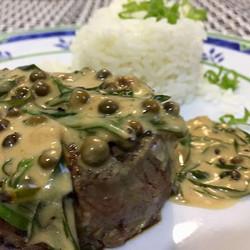 Steak au poivre #teresabistro #food #bodas27anos #pornfood foto_ _robertotostes