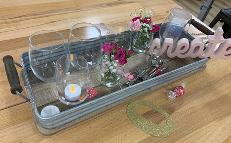 Crafting glasses and bottle openers