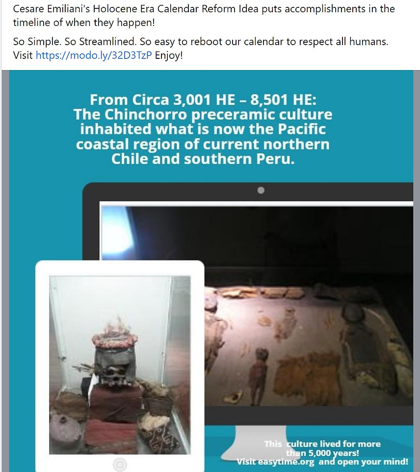 05000 HE Chinchorro preceramic culture 3