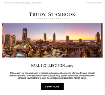 Luxury Portfolio Promotion