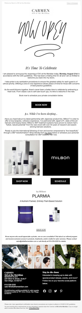 Luxury Product Launch Campaign - Beauty & Health