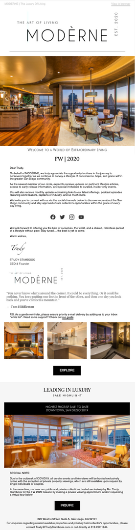 E-Mail Campaign Design/Ghost Writing
