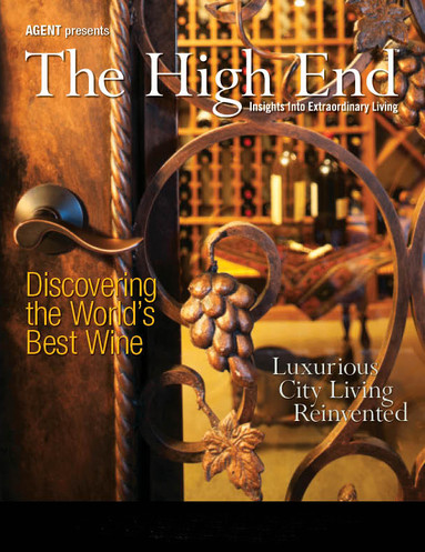 The High End Magazine Centerfold & Back Cover Designs