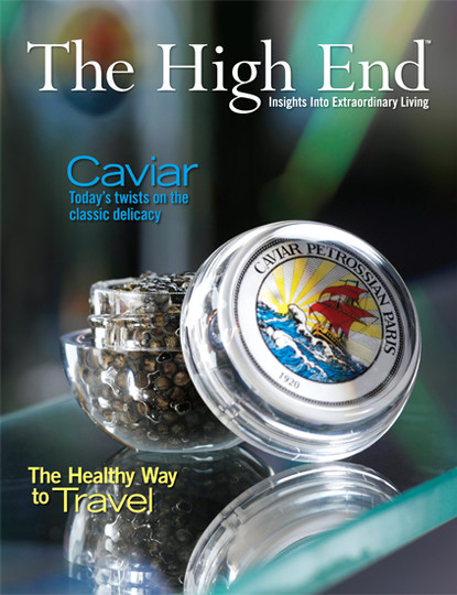 The High End Magazine Featured Centerfold Ad - Luxury Real Estate