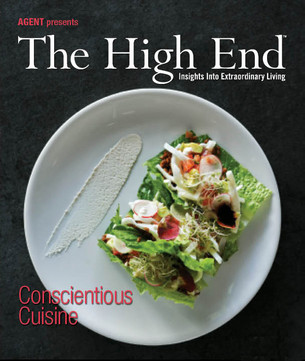 The High End Magazine Featured Ad Design