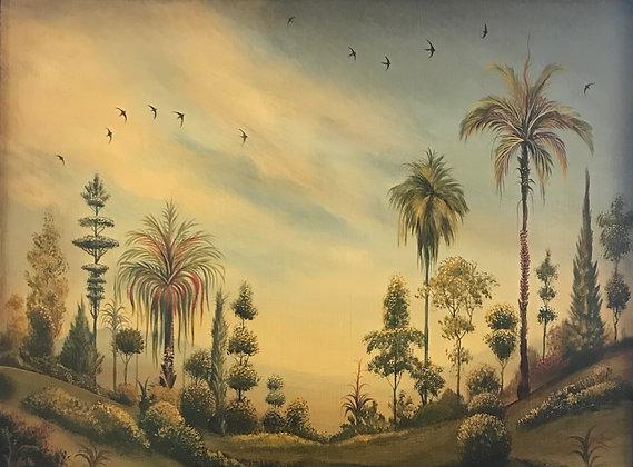 Prim Ribbon Palms