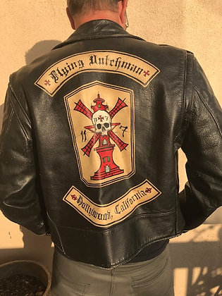 Flying Dutchman Leather Moto Jacket