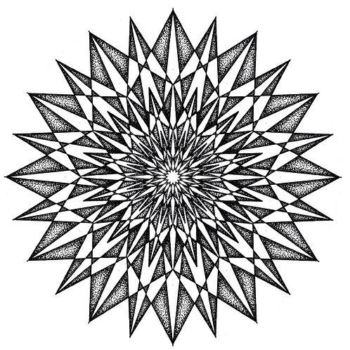 Fractal Mandala High Quality Print