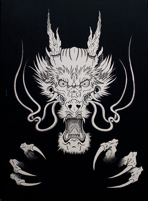 Dragon Head High Quality Print