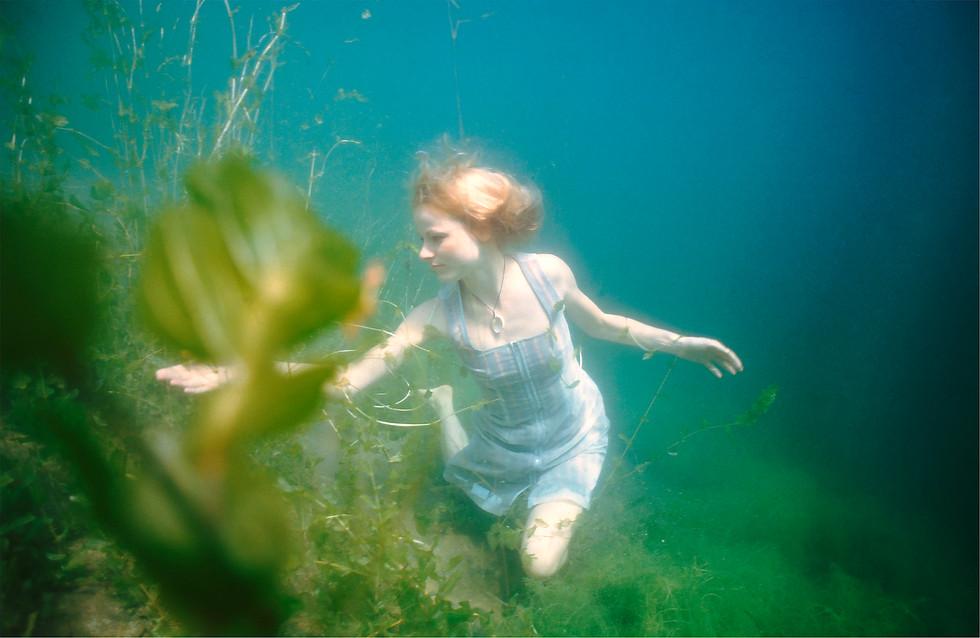Unterwasserporträt, Helenesee, 2010