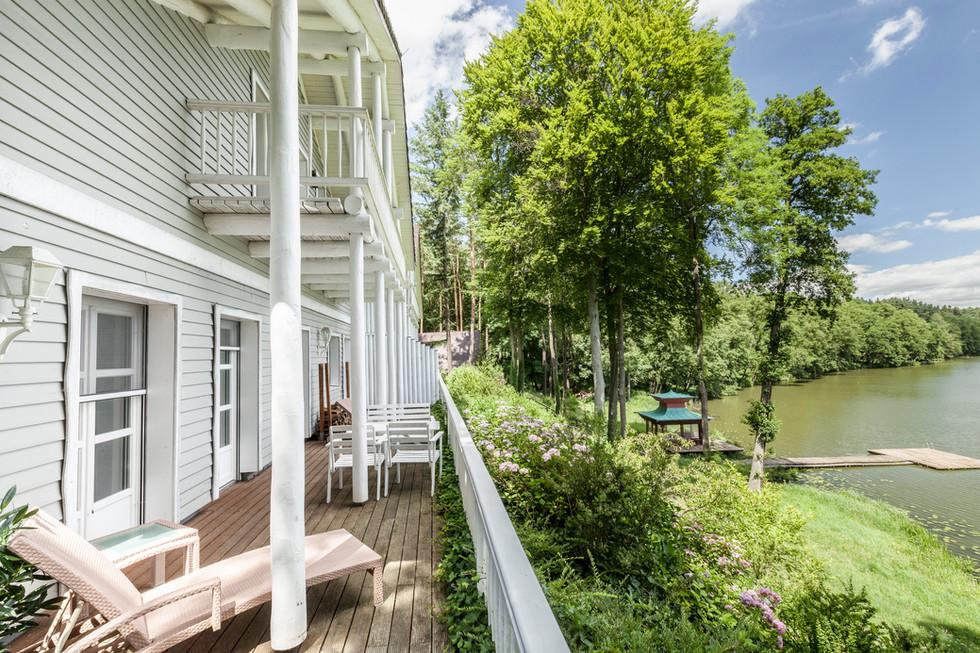 Holzhaus nach kanadischem Vorbild, Oder-Spree, 2017
