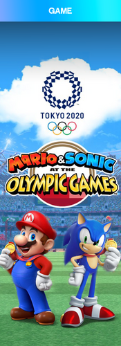 Mario and Sonic at the Olympic Games 2020