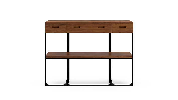 Section Console Walnut