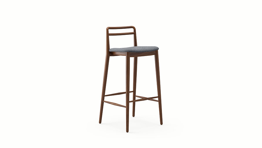 Tor Bar Stool Walnut