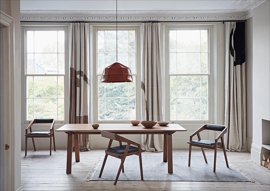 Dare Studio Norton Table and Katakana Chairs