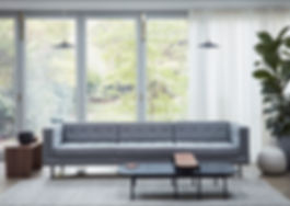 Dare Studio Riley Table and Ella Sofa