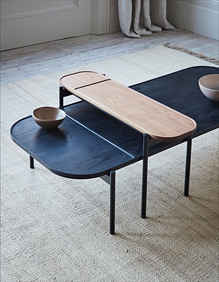 Dare Studio Riley Coffee and Over Table