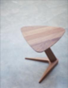 Dare Studio Drone Table Walnut