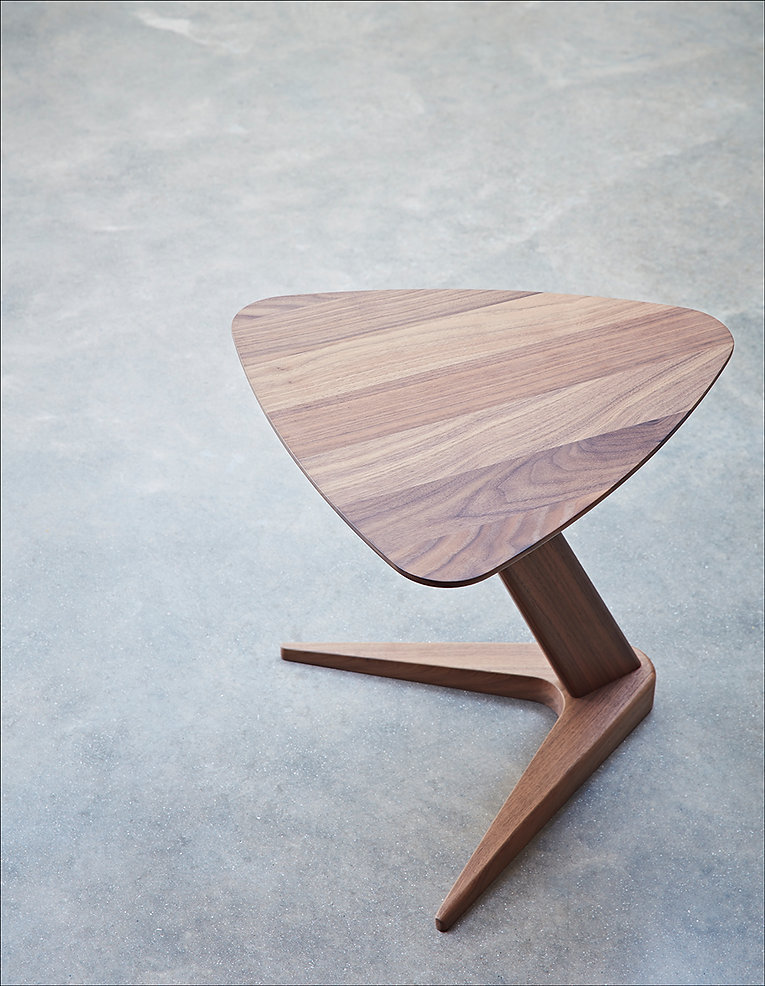 Dare Studio Drone Table Walnut