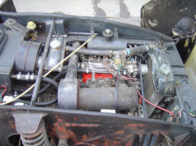 Motor Sonett VIN 47