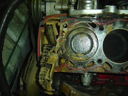 Zylinderkopfdichtung B202S