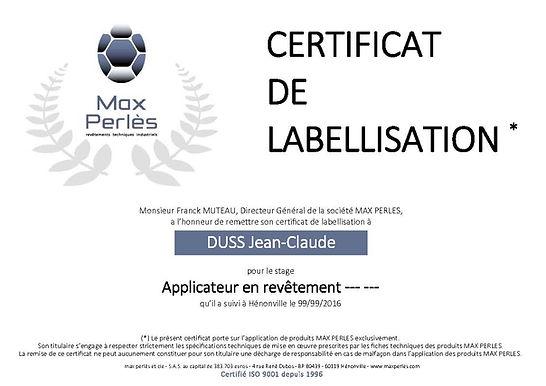 label etancheite max perles/maxperles-et