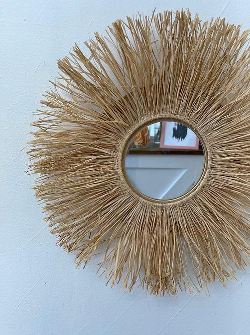 Handmade Fringe Mirror