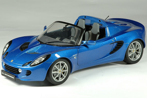 Lotus Elise - Laser Blue RHD ONLY