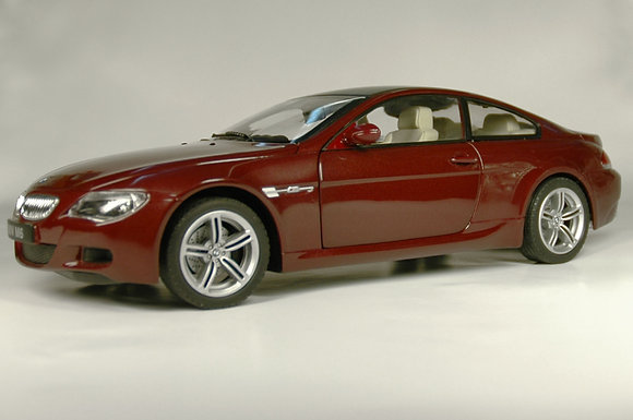 BMW M6 - indianapolis red