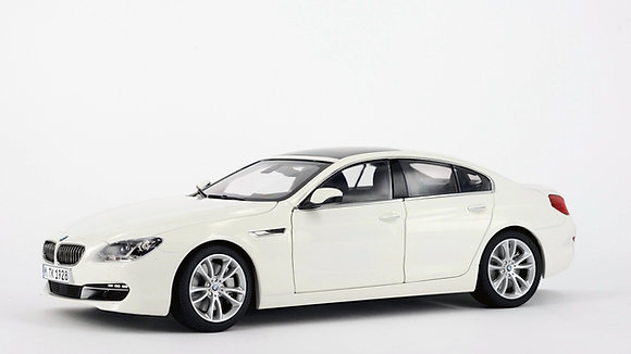 BMW 650i GC - 1:18 Alpine White