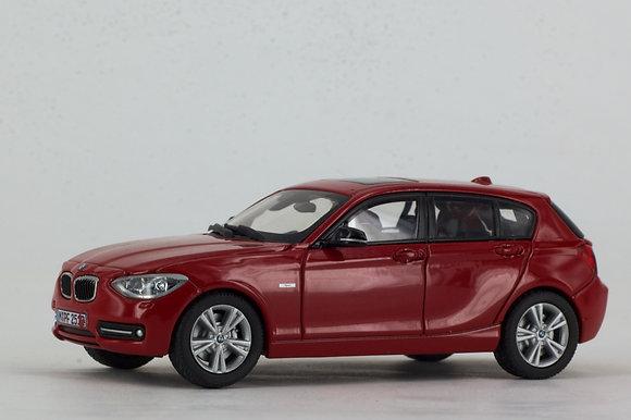 BMW 1 Series - 1:43 Karmesin Red