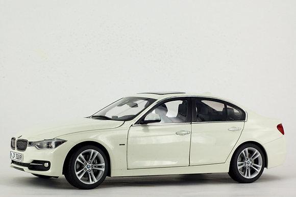 BMW 3 Series 1:18 Scale Alpine White