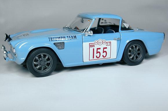Triumph TR4 Rally - Blue